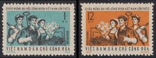 VIETNAM du NORD N°748/749** Syndicats Ouvriers, 1972 North Vietnam 657-658 MNH