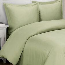1000 Thread Count TC 100% Egyptian Cotton King Cal King Duvet Cover Set Green