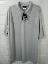 NIKE GOLF big men's, gray, DRI-FIT, micro fiber s/s, shirt. Size 3XLT. NWT