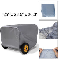 """25"""" Generator Storage Cover For Champion Weather-Resistant Dustproof"""