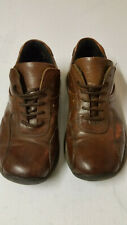 Designer Azor size 44 (uk 10) Mens Tan Leather Shoes