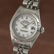 Rolex Lady Datejust Stahl / Weissgold Automatik Damenuhr Oyster Ref. 79174
