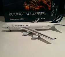 Phoenix Cathay Pacific Cargo Boeing 747-400 B-LIA 1 400 scale model plne BigBird