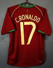 NIKE PORTUGAL CRISTIANO RONALDO 2006/2008 FOOTBALL SOCCER SHIRT JERSEY SIZE S