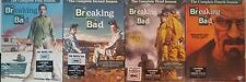 Breaking Bad: Complete Seasons 1, 2, 3, 4 DVDs 1-4