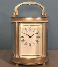 Vintage Reloj Carro Oval En Miniatura