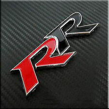 RR Red Black Racing Ready Sticker 3D Hyundai I10 Grand Xcent i20 Verna Accent