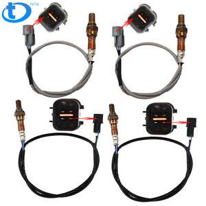4pcs Oxygen Sensor 1 Sensor 2 Bank 1 Bank 2 for 04-11 Mitsubishi Endeavor V6-3.8