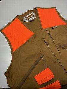 Gamehide Mens Brown/Orange Hunting Vest XXL