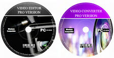 DVD Video Creator-Editor AUDIO VIDEO-Video Converter MP4 AVI PC CD software