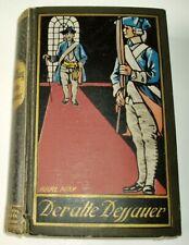 Karl May 1921 Der alte Dessauer Gesammelte Werke 42 Verlag Radebeul grün Leinen