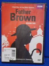 NEW BBC Father Brown: Season Two (DVD, 2015, 3-Disc Set) Sealed British TV