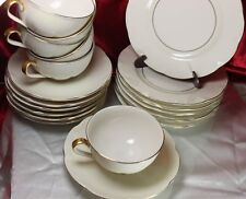 Theodore Haviland LEEDS New York Cups Saucers Bread plates  20 pieces