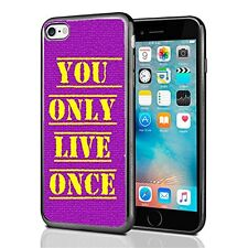YOLO You Only Live Once For Iphone 7 & Iphone 8 Case Cover Yellow