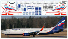 1/144 PAS-DECALS.Rus-Air.laser decal Boeing 737-800 AEROFLOT for REVELL