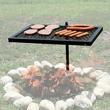 Barbecue Grill Cooking Swivel Grill for Outdoor Oven BBQ over Open Fire Campfire