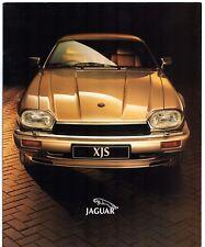 Jaguar XJS Mid-Late 1993 UK Market Sales Brochure 4.0 6.0 Coupe Convertible