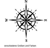 Compass Sticker Wind Rose 20cm /& 28cm Car Caravan Motorhome Caravan 219//3