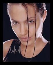 ANGELINA JOLIE AUTOGRAPHED SIGNED & FRAMED PP POSTER PHOTO