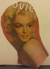 Amazing Rare Vintage Color Marilyn Monroe Magazine Cover Cutout. Beautiful!