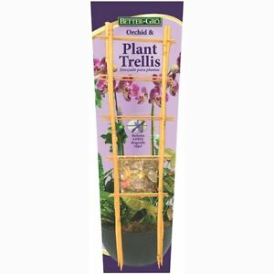Trellis 2-Pack Bamboo Orchid Trellis 2 bamboo trellises and 6 dragonfly clips
