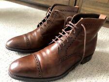 CARMINA Ankle Boots Brown Genuine Leather Spain Mens US 10.5 UK 9.5 EU 44