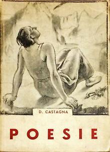 POESIE - D. CASTAGNA - 1936