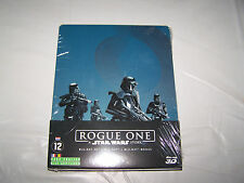 ROGUE ONE BLU RAY 3D+BLU RAY+BLURAY STEELBOOK  BONUS NEUF SOUS BLISTER