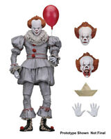 "IT Pennywise 7"" Scale Action Figure Collectible Ultimate Pennywise (2017) NECA"