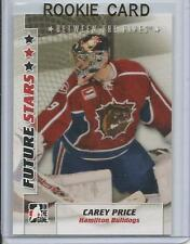07-08 ITG In The Game Carey Price Pre Rookie Card RC Future Stars #7 Mint