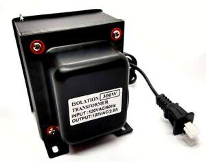 120V to 120V Isolation Transformer 300W