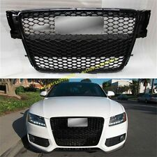 RS5 Front Sportback Sline Grille Gloss Black For Audi A5 S5 8T SFG 2008-2012 AU