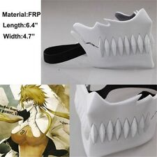 Anime Bleach Arrancar NO.3 Tear Halibel Mask Cosplay Costume Mask Hollow Mask