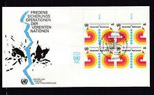 Briefmarken der Vereinten Nationen mit Ersttagsbrief und Geschichte