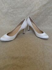 a864ccb627c Cole Haan Ceci Pump White Satin, Women's Shoes, Size 9.5M