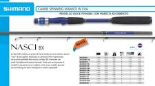 SHIMANO CANNA NASCI BX SPINNING  6'11'' UL   2.10m  1-6gr  SPECIALE ROCK FISHING