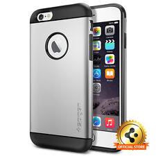[Spigen Outlet] Apple iPhone 6 / 6S [Slim Armor] Satin Silver Shockproof Case