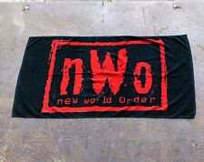 Vintage 90s WWF NWO Towel Wrestling WCW 1990s Beach Towel