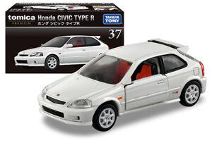 TOMICA PREMIUM 37 - Honda Civic Type R White