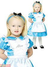 Alice With Headband 2 Yrs - Dress Wonderland Costume Baby Fancy Girls Toddler