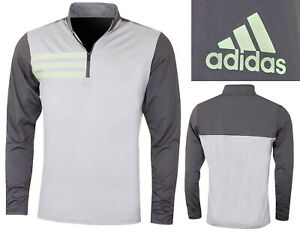 Adidas Golf 3 Stripe Competition 1/2 Zip Pullover Mid Layer - SMALL ONLY RRP£60