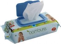 Bambure Natural Biodegradable Baby Wipes 80 Pack Bambeco