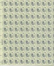 1977 1 cent Americana Issue full Sheet of 100 Scott #1581, Mint Nh,