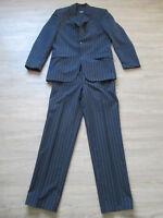 Männer / Herren Anzug / Nadelstreifenanzug in Schwarz Gr. 46 v. Esprit / Jacket