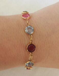 Colourful Glass Pretty Bracelet