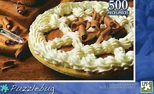 NEW Puzzlebug 500 Piece Jigsaw Puzzle ~ Chocolate Cream Pie