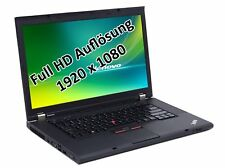 "Lenovo ThinkPad W530 i7 3740QM 2,7GHz 32GB 512GB SSD 15,6"" DVD-RW Win 10 Pro"