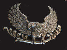 Vtg Eagle Belt Buckle Country Western Bird USA Carrying Branch Western Style