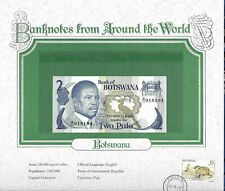 World Banknotes Botswana 2 Pula 1982 P 7b UNC Prefix B/11 sign. 4