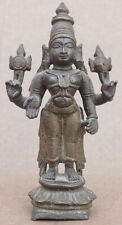 19th Century Bronze Vishnu Fine Patina